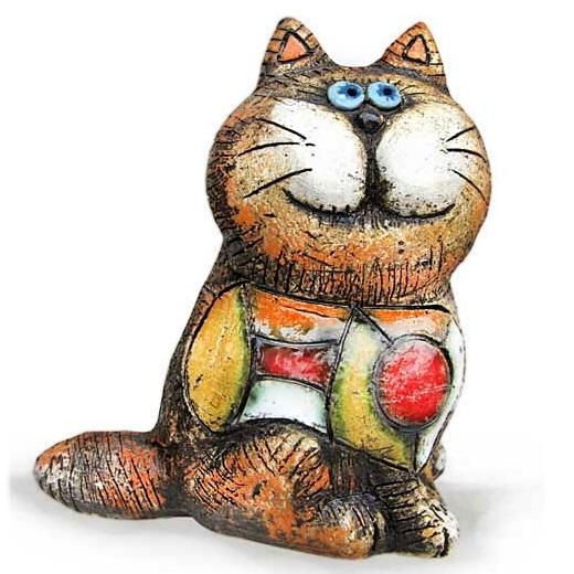 """Кот """"Весёлый охотник"""" сидящий"""