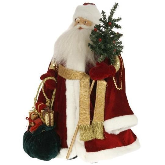 Дед Мороз с ёлкой большой