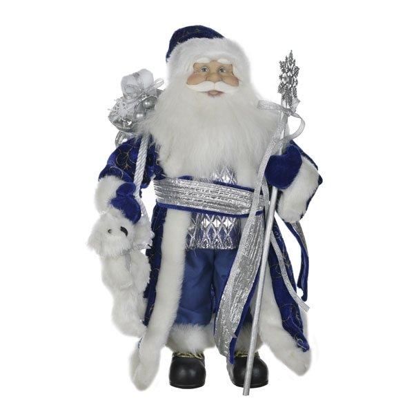 Дед Мороз в синей шубе