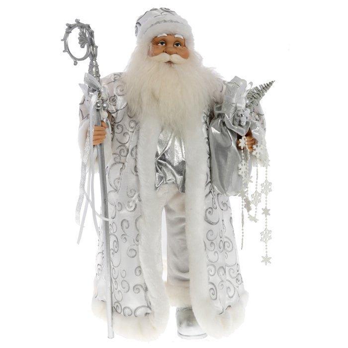 Дед Мороз в серебряной шубе