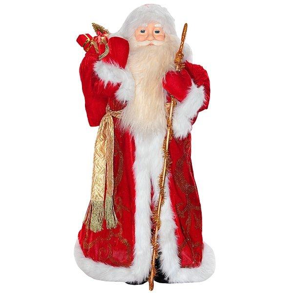 Дед Мороз в красной шубе, 100 см