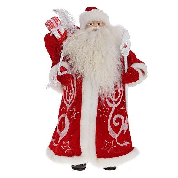 Дед Мороз в красной шубе, 62 см
