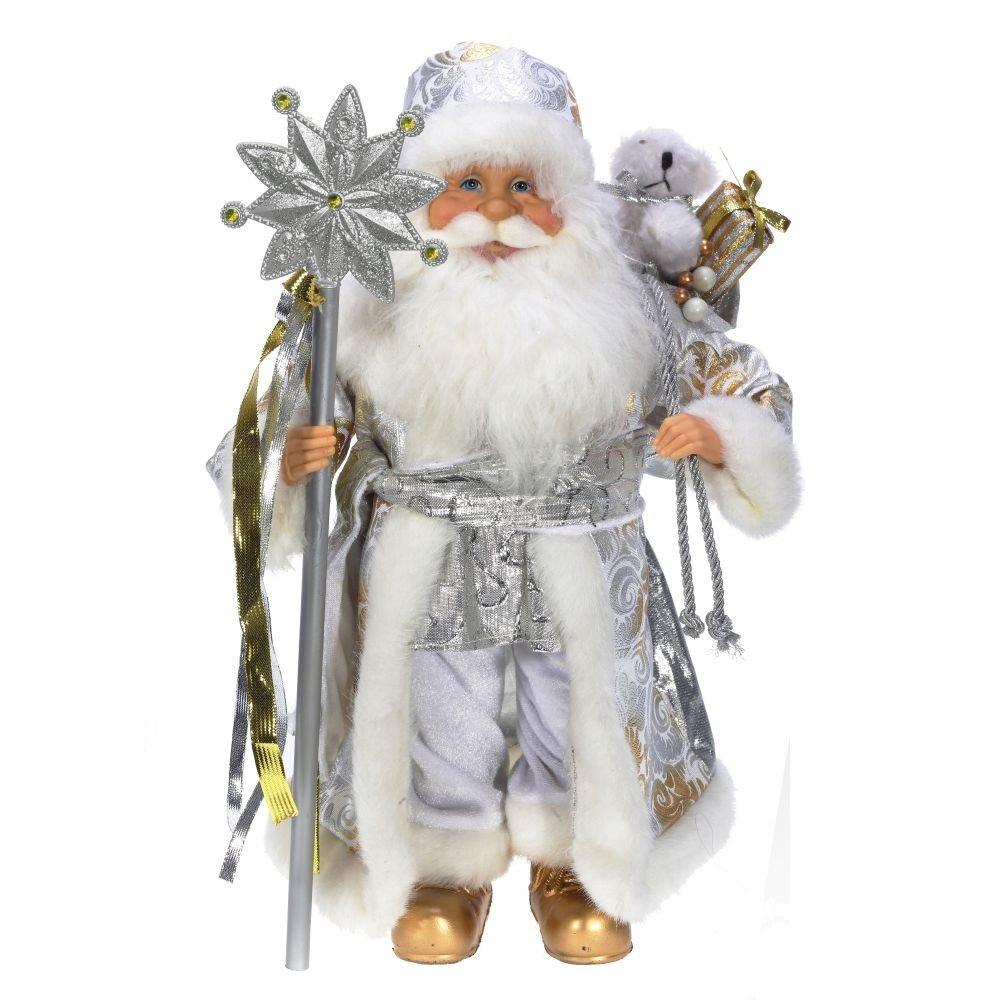Дед Мороз в серебре