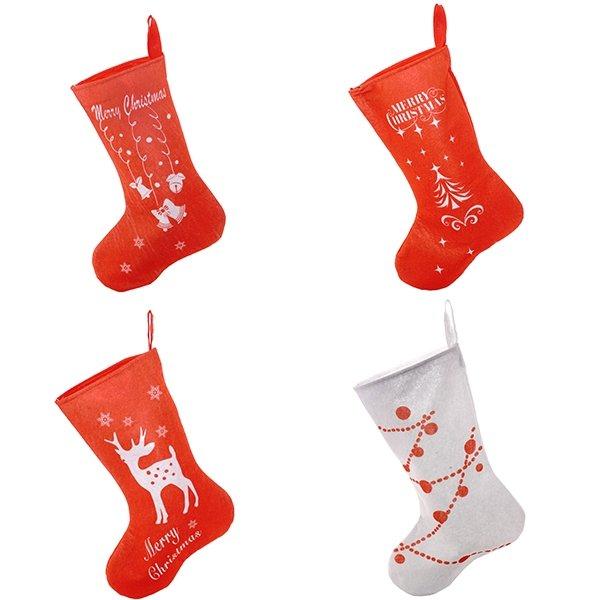 Носок для подарков, 4 вида