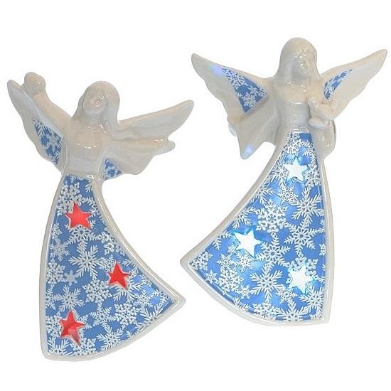 "Сувенир из фарфора с подсветкой ""Ангел"""