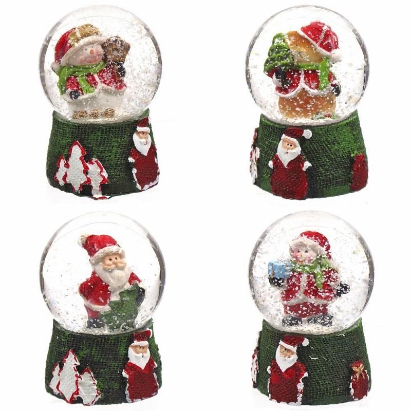 """Новогодний водяной шар """"Снеговик/Дед Мороз/Медвежонок"""""""