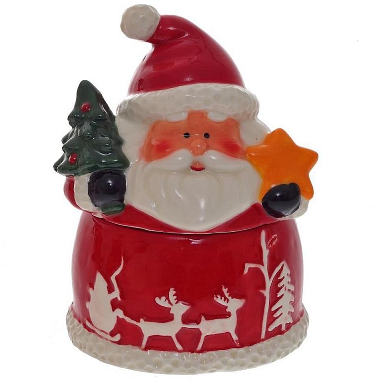 """Новогодняя сахарница """"Дед Мороз"""""""