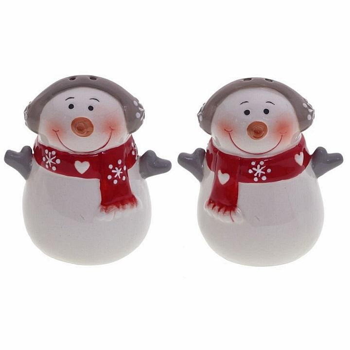 """Новогодний набор для специй """"Снеговики"""""""