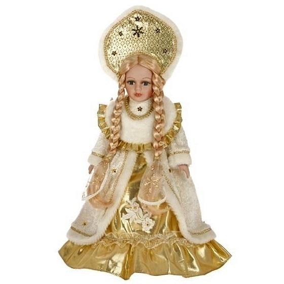 Снегурочка в золотом платье