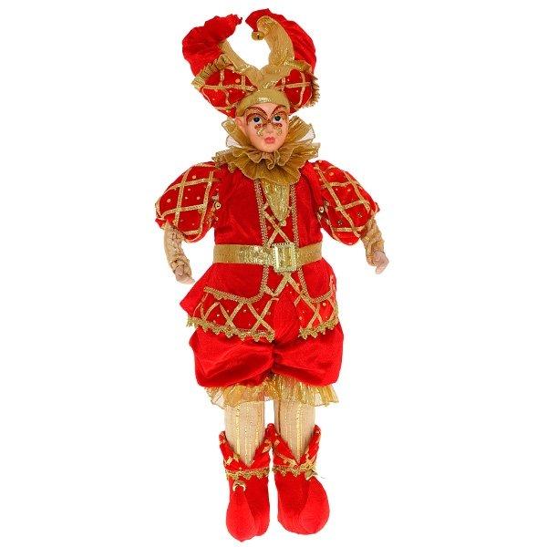 "Кукла ""Клоун в красном костюме"", 85 см"