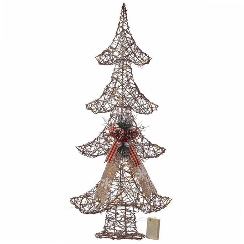 """Новогоднее украшение с подсветкой  """"Елка"""", 90 см"""