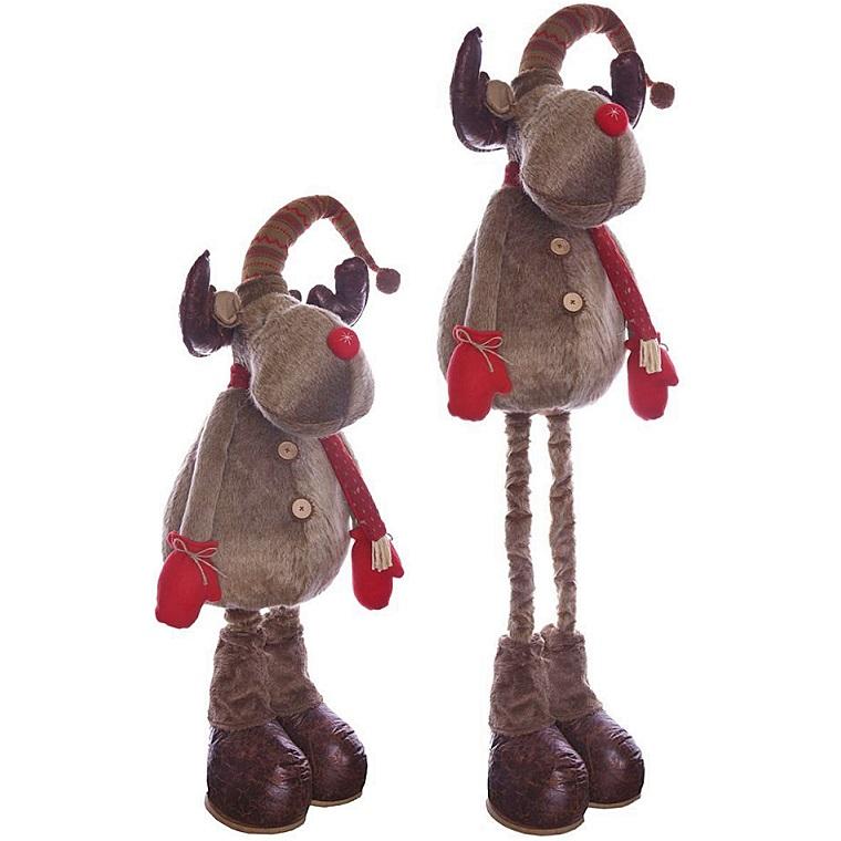 """Мягкая игрушка """"Лось на телескопических ногах"""", 155 см"""