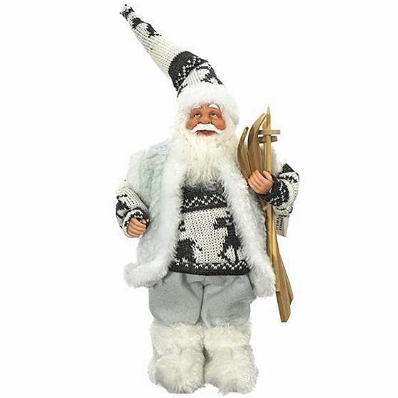 Дед Мороз в свитере, 45 см
