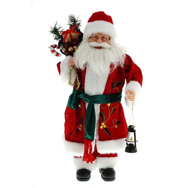 Дед Мороз с фонарём, 47 см