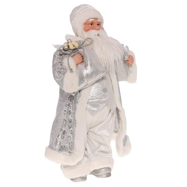 Дед Мороз в серебристой шубе