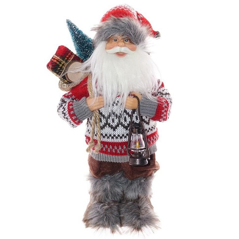 Дед Мороз в вязаном свитере