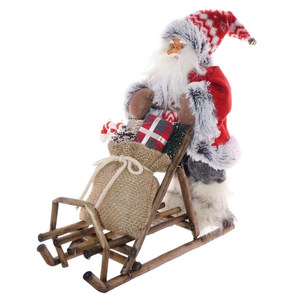 Санта Клаус на санях