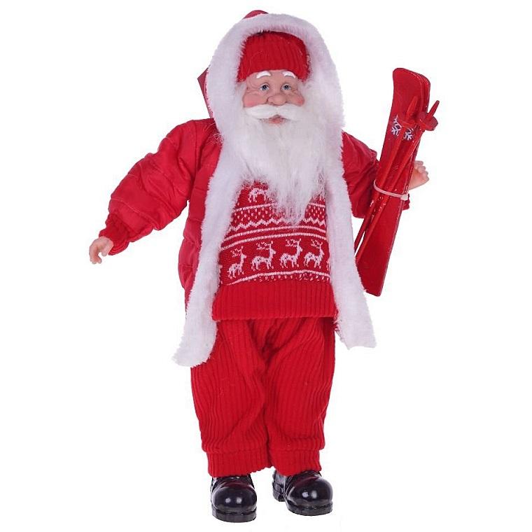 Дед Мороз лыжник