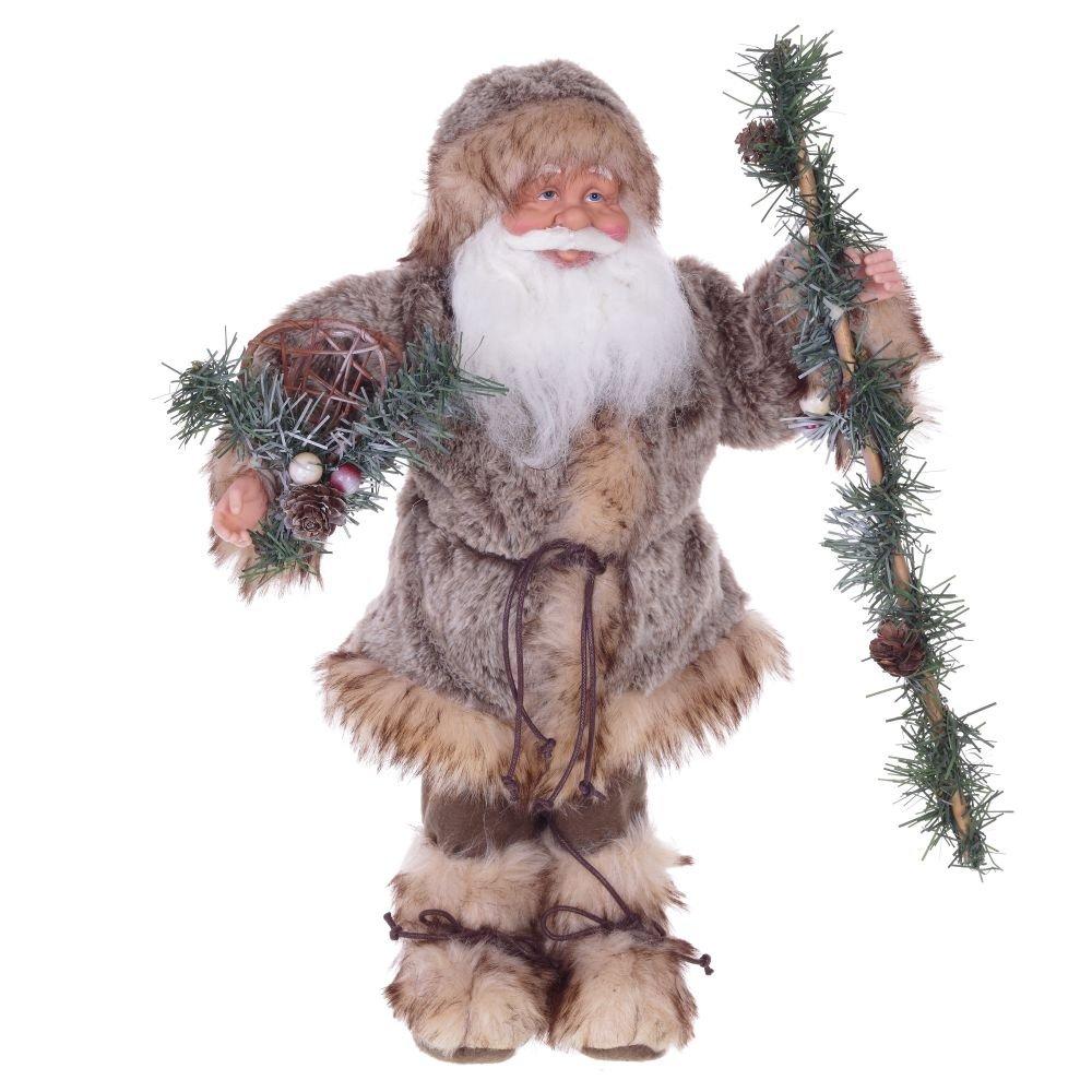 Санта Клаус меховой