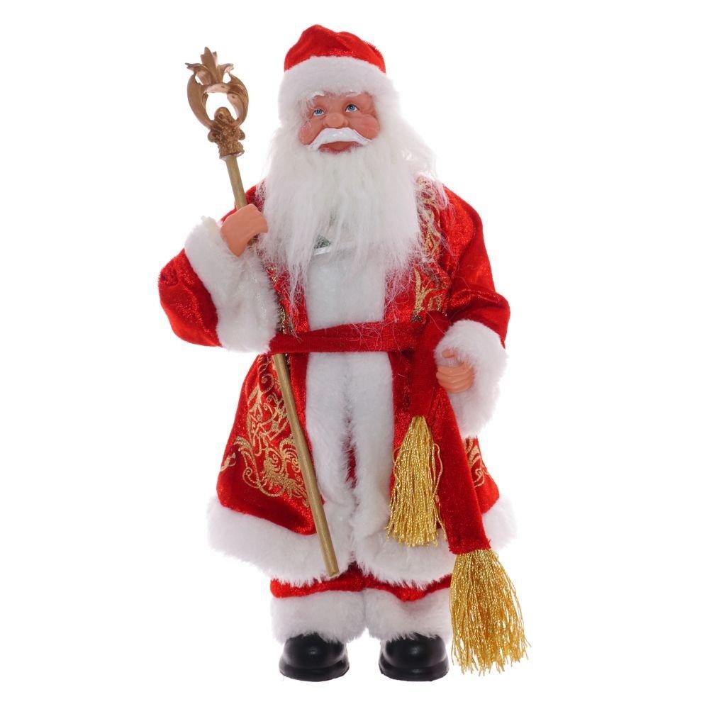 Дед Мороз в красной шубе, 31 см