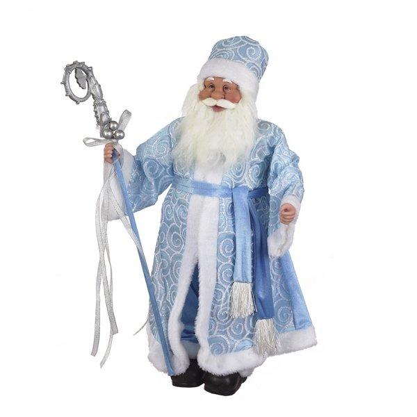 Дед Мороз в голубой шубе, 61 см