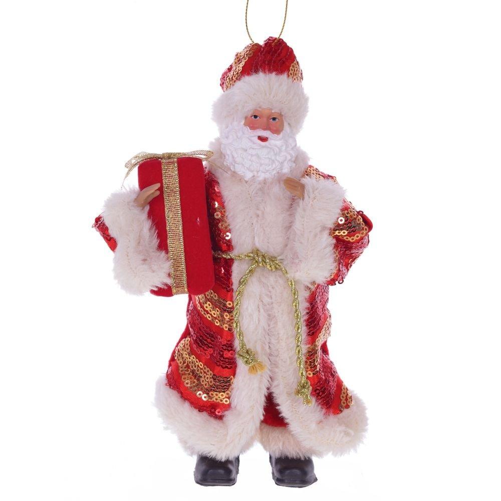 """Новогоднее украшение """"Дед Мороз в красной шубе"""""""