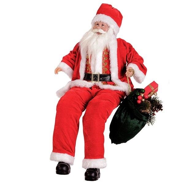 Дед Мороз сидящий, 60 см