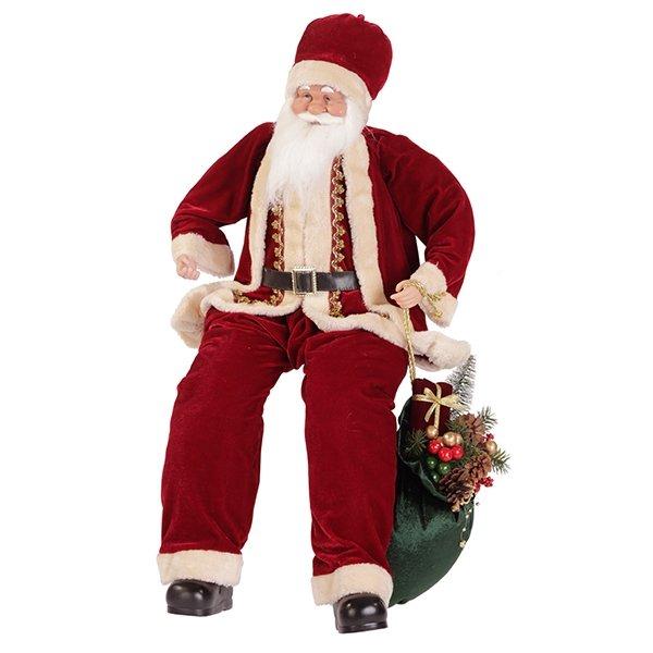 Дед Мороз сидящий, 85 см