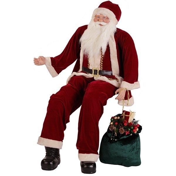 Дед Мороз с мешком, 150 см
