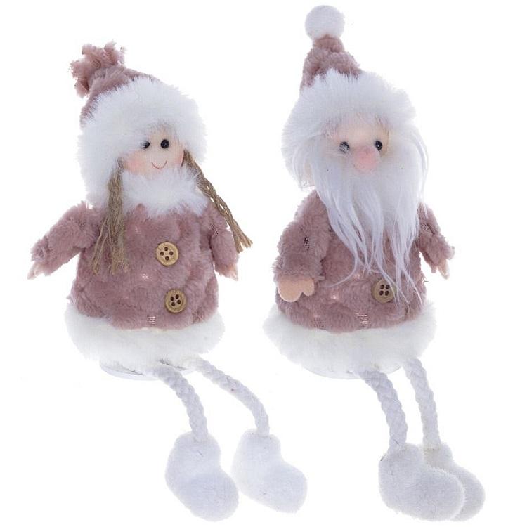 "Мягкая игрушка ""Снегурочка/Дед Мороз"""