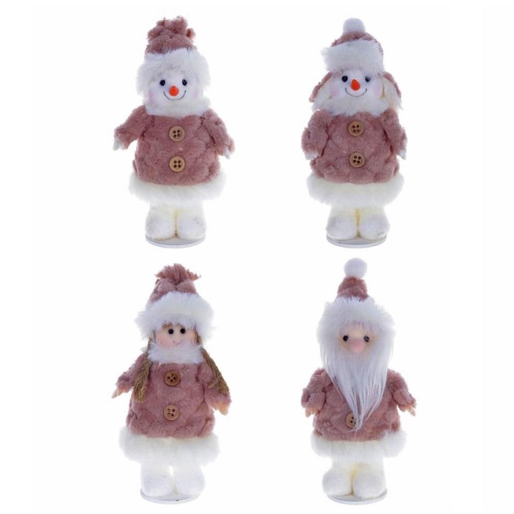 "Мягкая игрушка ""Снеговик/Снегурочка/Дед Мороз"""