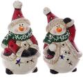 """Фигурка с подсветкой """"Снеговик в шарфе"""""""