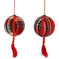 """Ёлочная игрушка """"Шар Шотландия"""""""