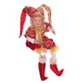 Клоун в красном костюме, 43 см