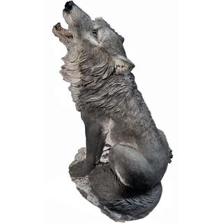"""Садовая фигура """"Волк сидящий"""""""