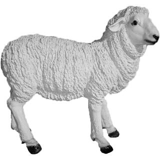 """Сувенир садовый """"Овца"""""""