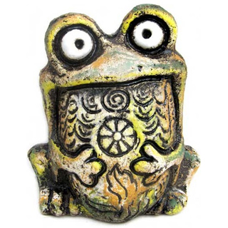 Лягушка Квака мини (шамот)