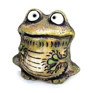 Лягушка Квака (шамот)