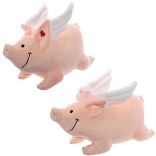 Мягкая игрушка Свинка ангел