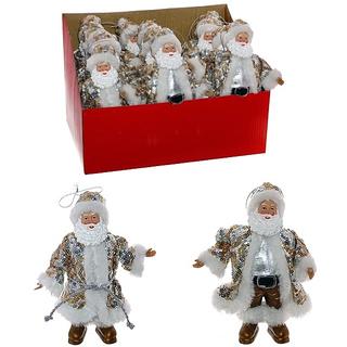 Ёлочная игрушка Санта, 2 вида