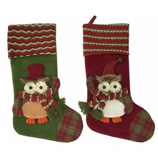 """Носок для подарков """"Сова"""""""