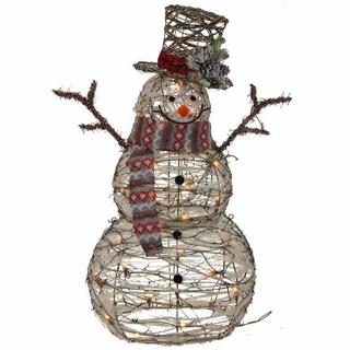 """Украшение новогоднее """"Снеговик с подсветкой"""""""