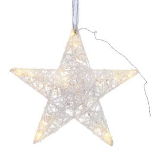 """Новогоднее украшение с подсветкой """"Звезда"""""""