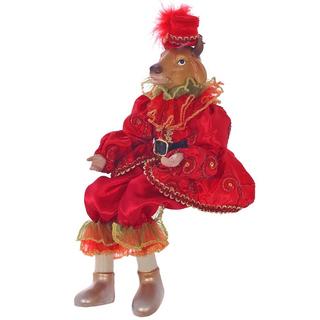 """Кукла """"Бык в красном костюме"""""""