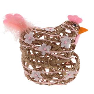"""Корзинка для пасхальных яиц """"Наседка"""""""