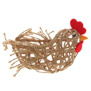 """Корзинка для пасхальных яиц """"Курица"""""""