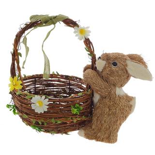 Пасхальная корзинка с кроликом