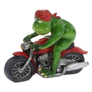 """Фигурка """"Лягушка мотоциклист"""""""