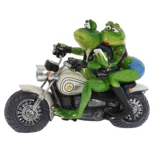 """Фигурка """"Лягушки на мотоцикле"""""""