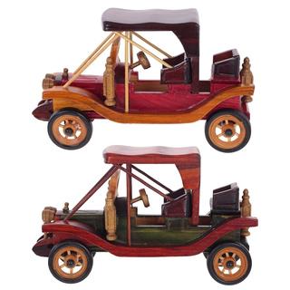 Деревянная модель автомобиля, 2 вида